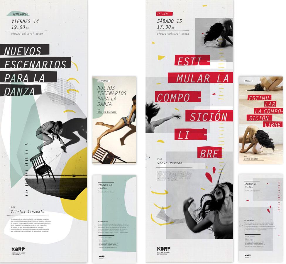Afichetas talleres y seminarios