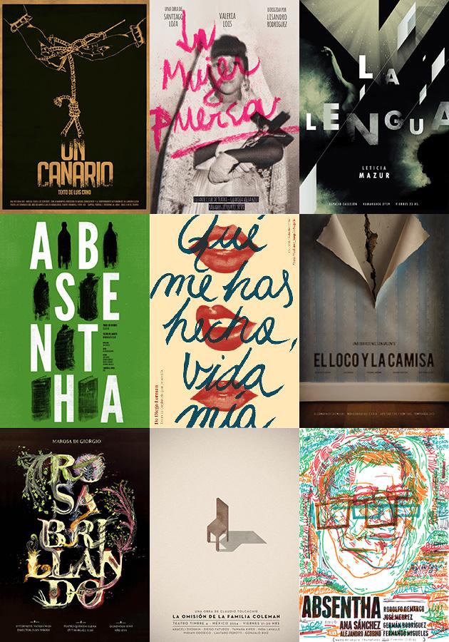 Afiches de Teatro 2013