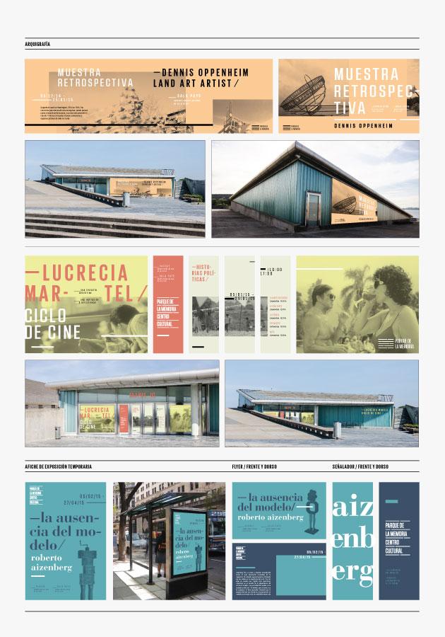 Parque de la Memoria - Melisa Rivas - Panel Arquigrafía