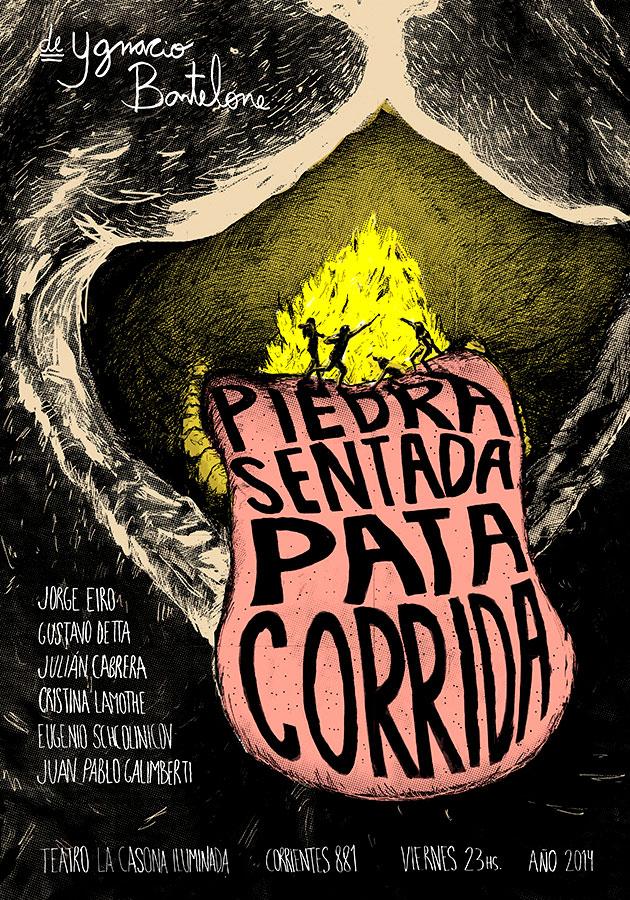 Sebastián Roitter - Piedra Sentada, Pata Corrida