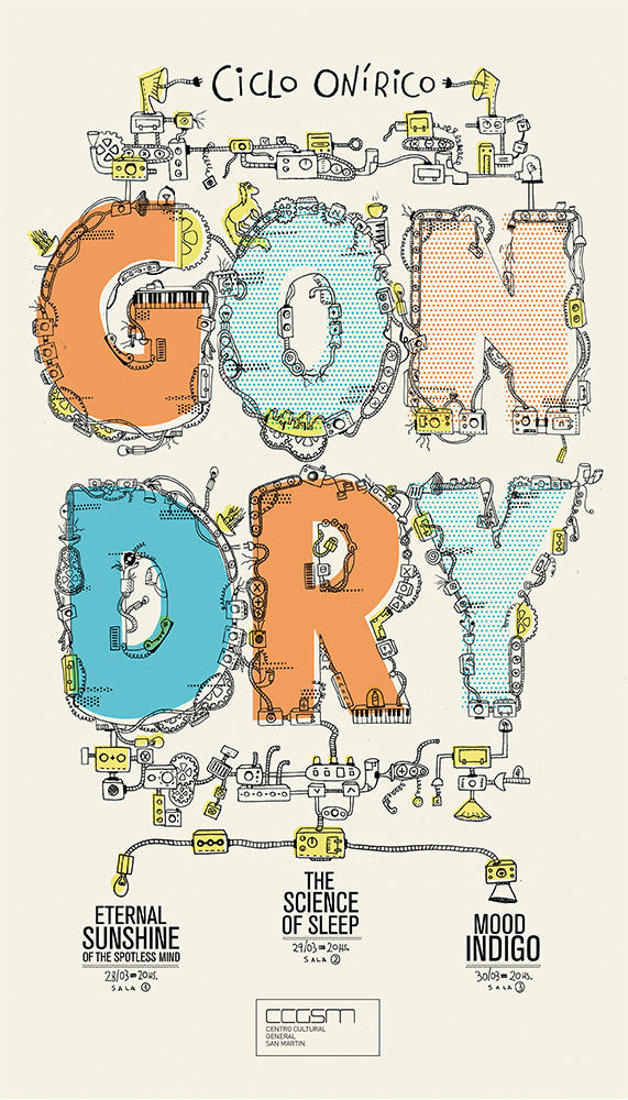 Michel Gondry 2016